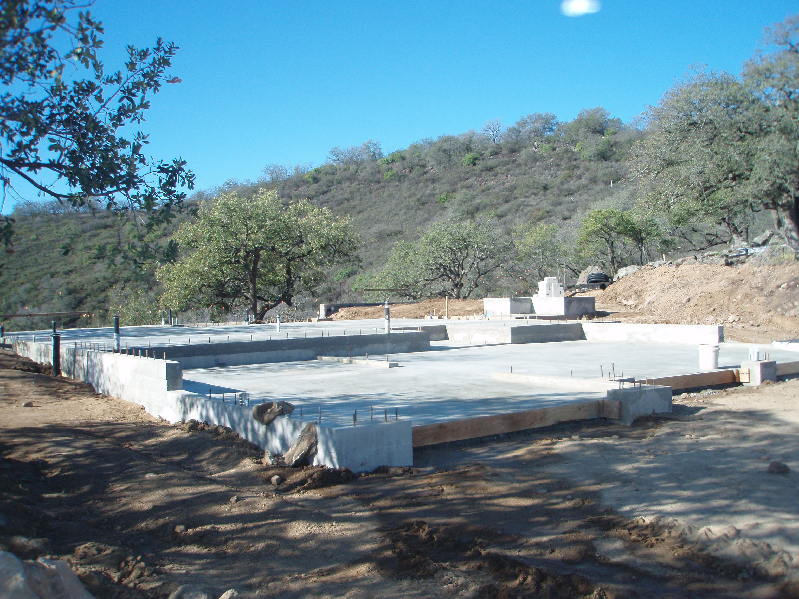 Installing foundations in Riverside, Orange and Counties
