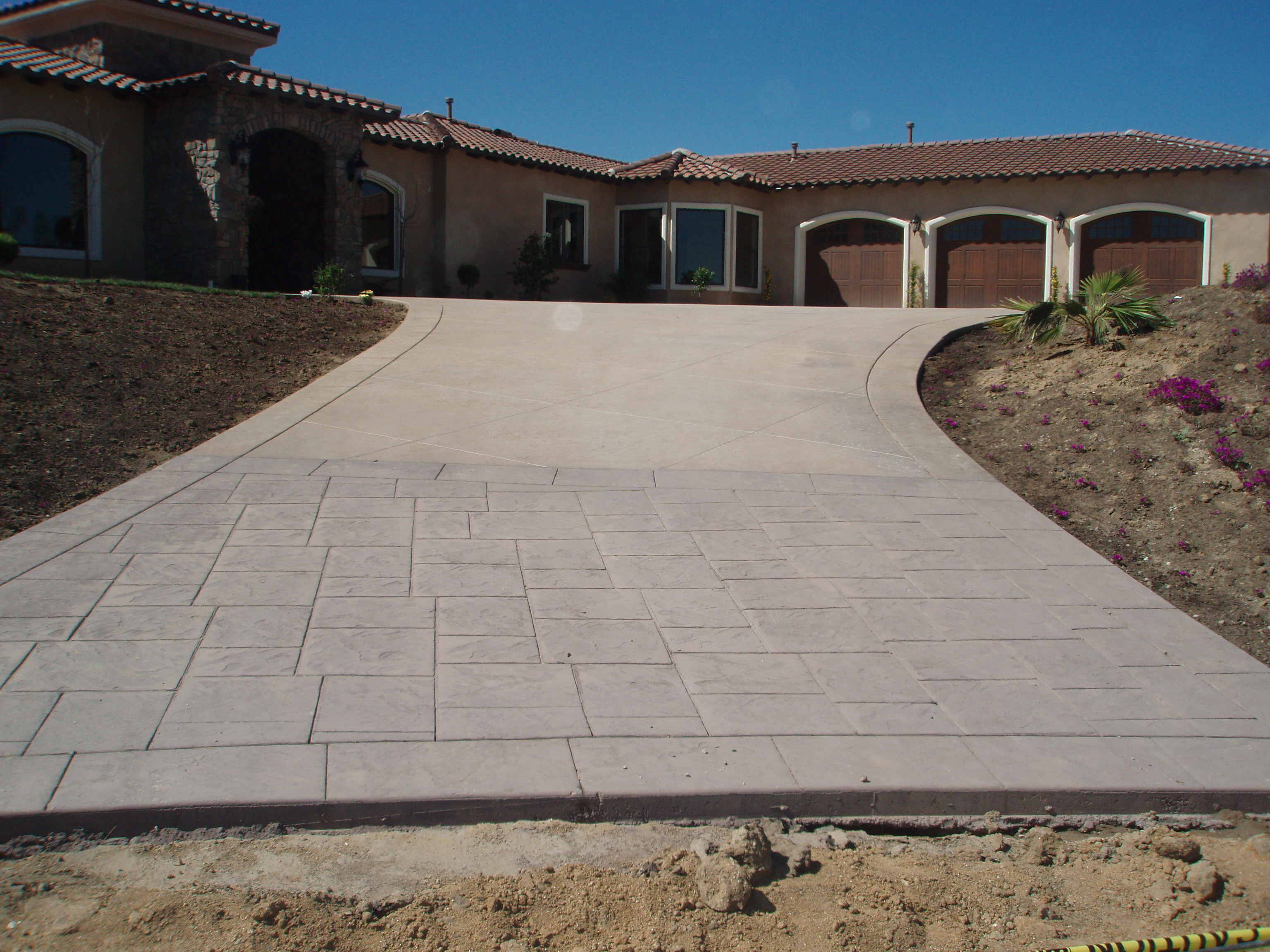 Driveways, patios, walkways, sidewalks and stoops