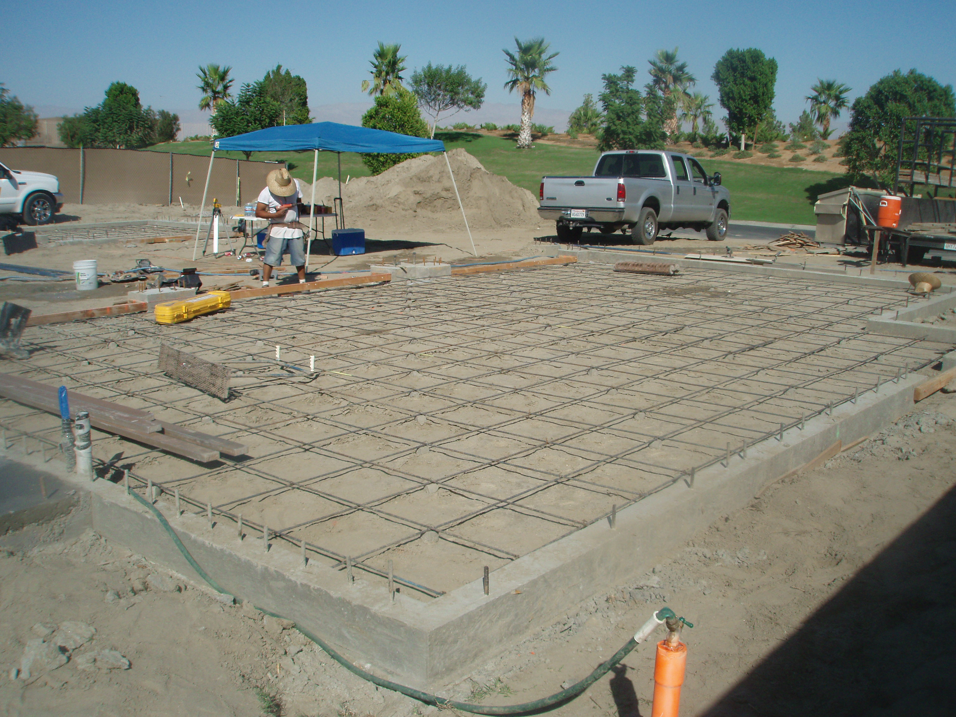 Installing foundations in Riverside, San Diego, and Counties